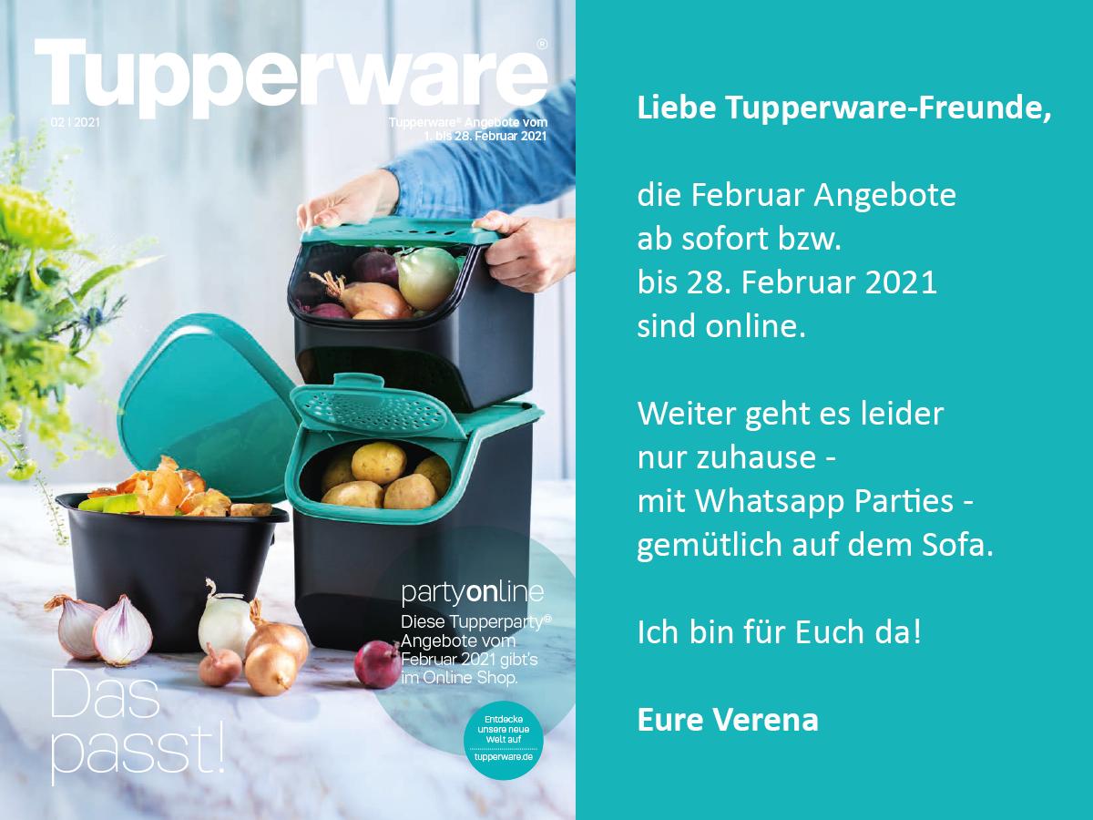 Tupperware Angebot Januar 2021